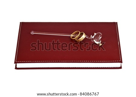 Note book - stock photo