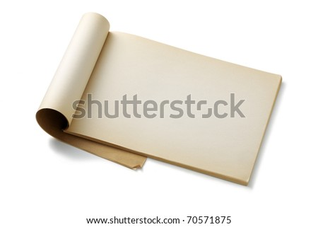 Note paper. - stock photo