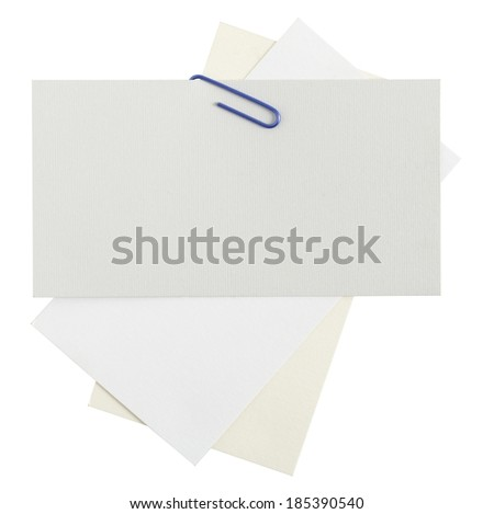 Note papers - stock photo