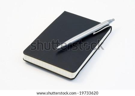 notebook1 - stock photo