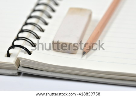 Notebook and stationary