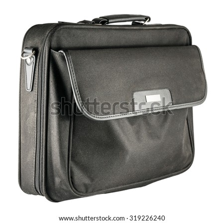 Notebook Bag isolated on a white background