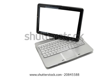 Notebook isolated against a white background