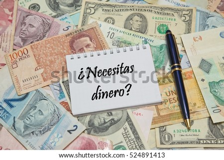 Spanish Currency Stock Images Royalty Free Images Amp Vectors Shutterstock
