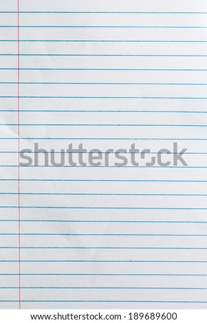 Notebook paper background stock photo download now 189689600 notebook paper background altavistaventures Image collections