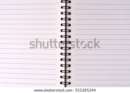 Notebook texture background