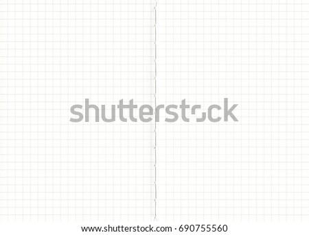 Notebook With Grid Lines Paper Background.Black Lined On White Paper,paper  Textures Background  Lines Paper
