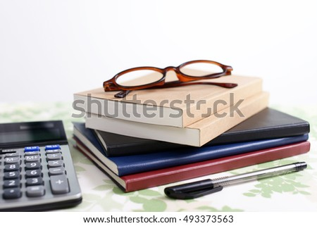 Notebooks with calculator