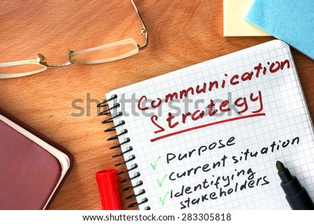 Communication Strategy Stock Images, Royalty-Free Images & Vectors
