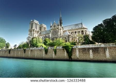 Notre Dame  Paris, France - stock photo