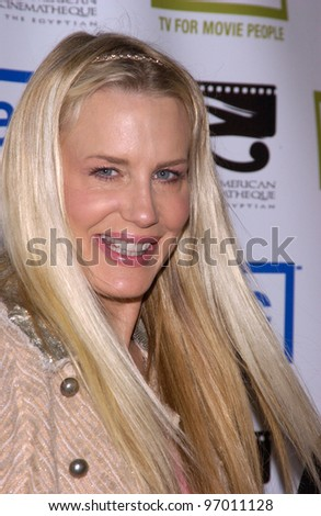 Nov 12, 2004; Beverly Hills, CA: Actress DARYL HANNAH at the 19th Annual American Cinematheque Award Gala honoring Steve Martin at the Beverly Hilton Hotel, Beverly Hills, CA.