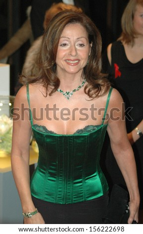 "NOVEMBER 5, 2005 - BERLIN: Vicky Leandros at the ""AIDS-Gala"" in the German Opera (Deutsche Oper), Berlin."