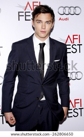 "November 5, 2009. Nicholas Hoult at the AFI FEST 2009 Screening of ""A Single Man"" held at the Grauman's Chinese Theater, Hollywood, Los Angeles."