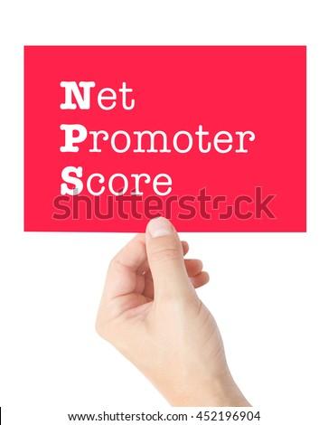 NPS concept - stock photo