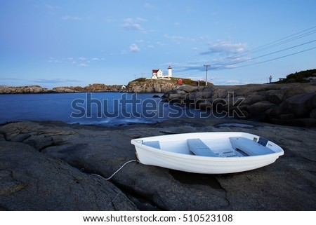 Nubble Light - Cape Neddick Lighthouse - Sohier Park - York Maine