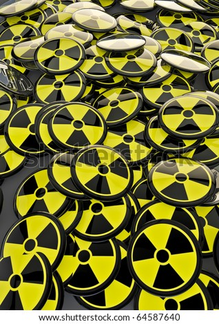 nuclear badges background