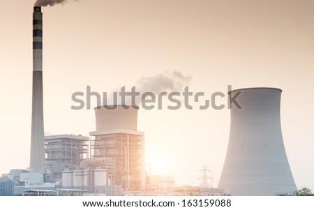 Nuclear energy - stock photo
