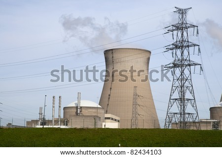 Nuclear plant in Doel