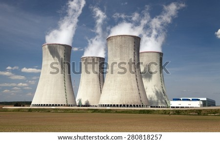 Nuclear power plant Dukovany - Czech Republic