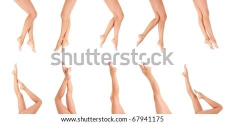 Nude Female Beauty - stock photo