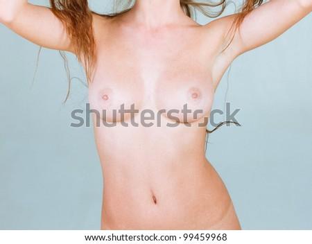 Nude Perfection Female - stock photo