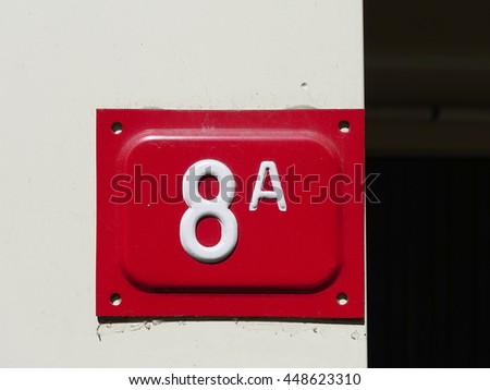 number 8A