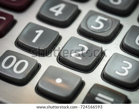 number on calculator