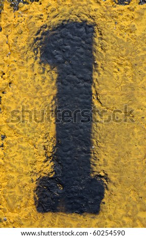 Number One on Painted Asphalt, more in this series