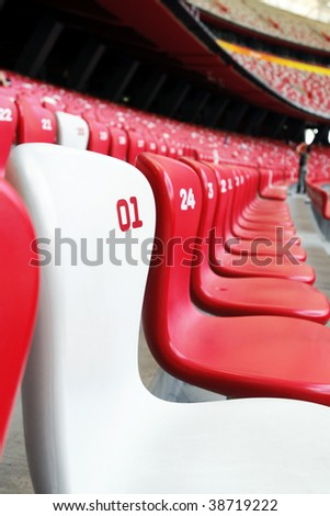 Number One Seat - stock photo