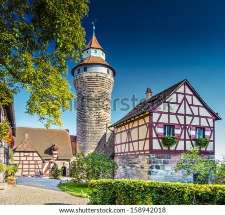 Nuremberg Castle Nuremberg, Germany. - stock photo