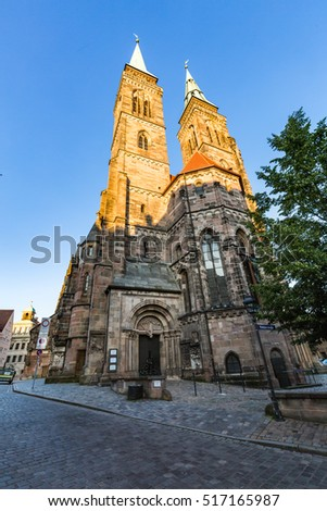 Nürenberg st sebaldus church stock images royalty free images vectors