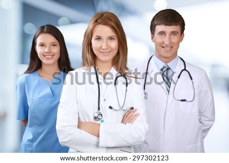 Nurse, Doctor, Healthcare And Medicine.