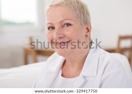 Nurse is nice and kind for her patients