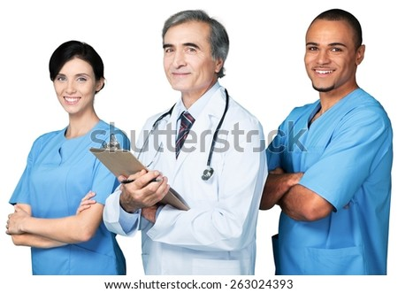 Nurse, Nursing Home, Team.