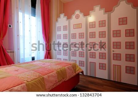 Nursery interior - stock photo
