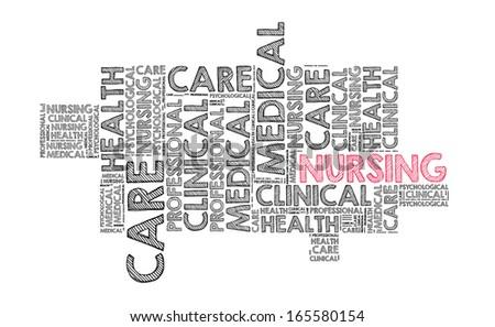 Nursing - stock photo