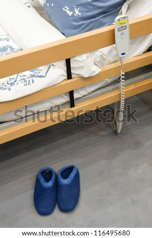 Nursing bed - stock photo