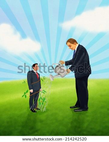 Nurturing Concept - stock photo