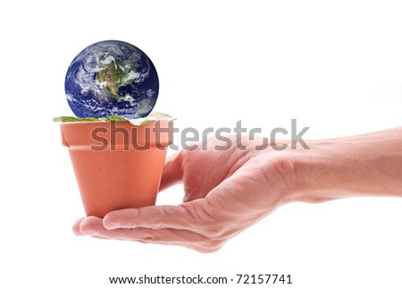 Nurturing The Planet Conceptual Image