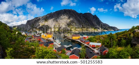 Nusfjord, one of the oldest fisherman village in Norway