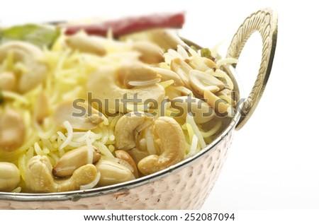Nut rice - stock photo