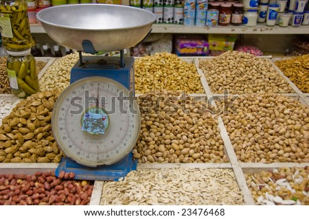 Nuts by weight