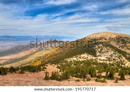NV-Great Basin National Park-Wheeler Peak. This magnificent national park is located in a remote area of Nevada, and home of 11,000 ft. Wheeler Peak