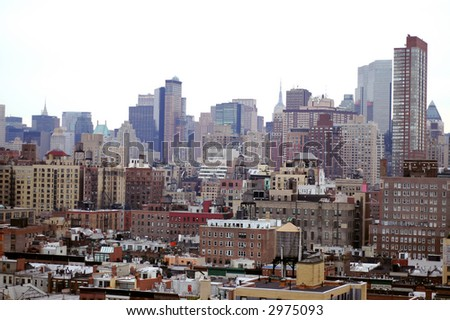 NYC Buildings - stock photo