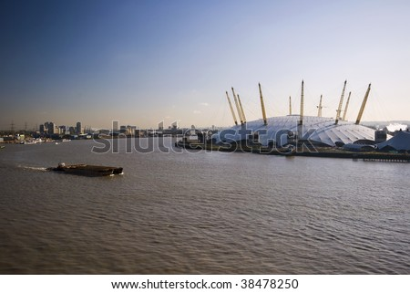 o2 arena or millenium dome , north greenwich, london