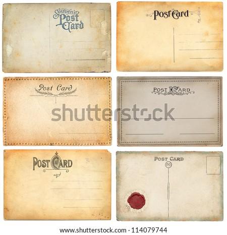 O;d postcard - stock photo