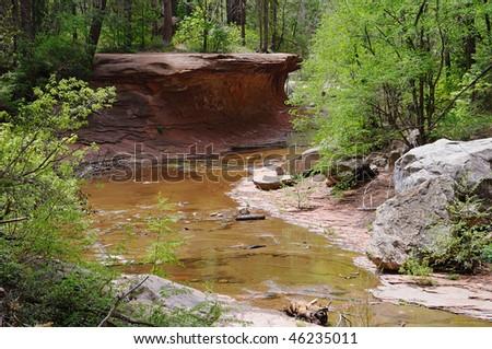 Oak Creek Canyon - stock photo