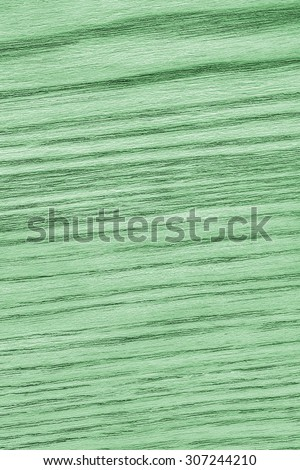 Oak Wood Bleached and Stained Green Grunge Texture Sample.