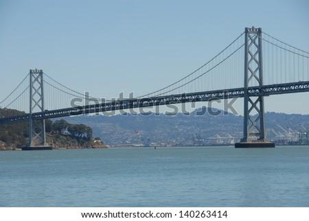 Oakland Bay Bridge - stock photo