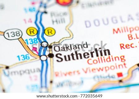 Oakland Oregon Usa Stock Photo 772035649 Shutterstock